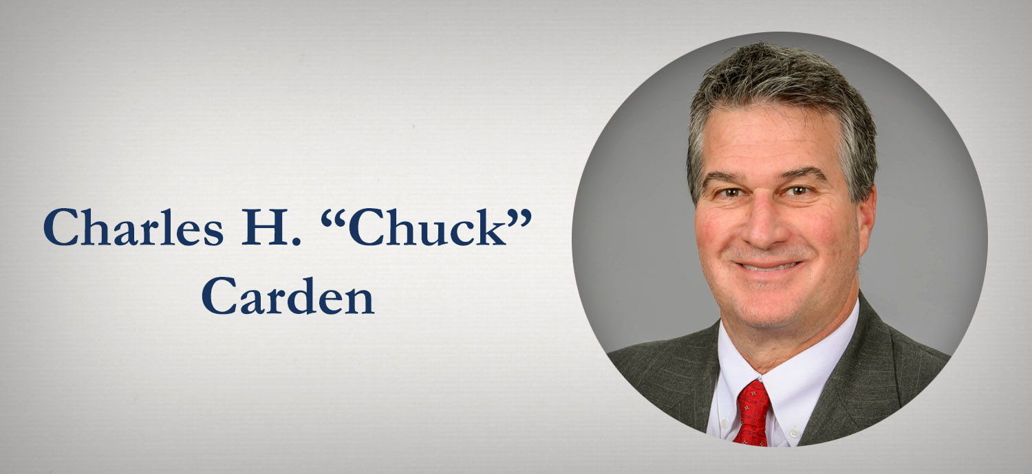 """Charles H. """"Chuck"""" Carden"""