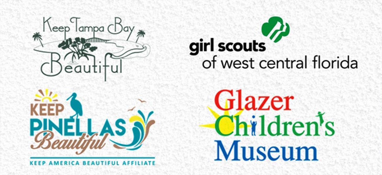 Montage of mini-grant recipient logos