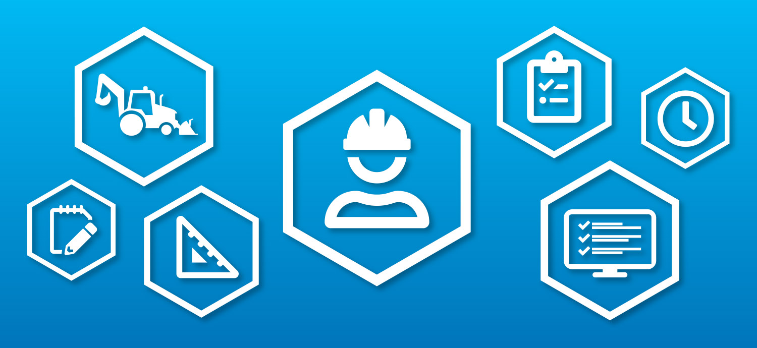 Program manager duties icons