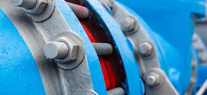 Closeup of pipe