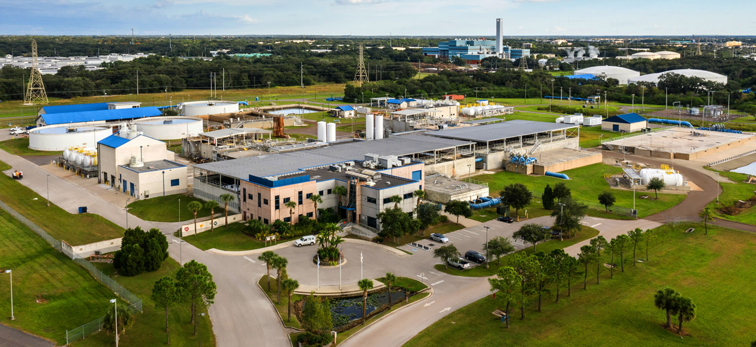 Tampa Bay Regional Surface Water Treatment Plant