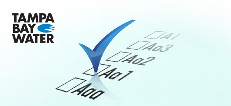 Check mark on 3D checklist